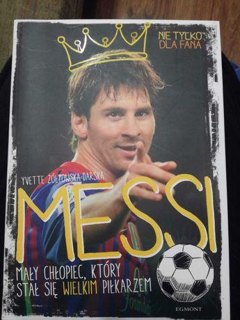 Książka  - Messi.