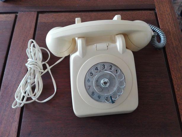 Telefone Antigo creme