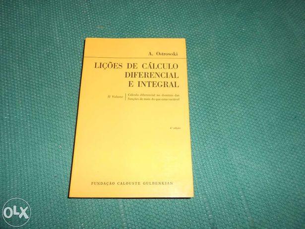 Universidade - Lições de Cálculo Diferencial e Integral