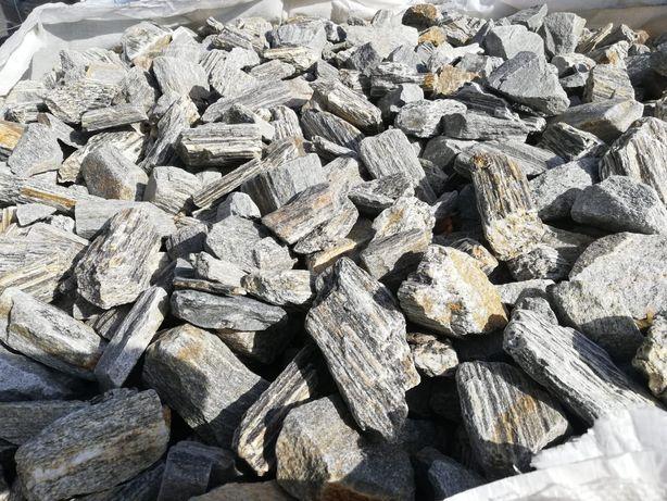 Kora kamienna szara lub brąz 3 tony z dostawą grys gabion duzy wybór