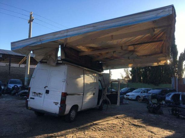 Dach Camper , Kamper Markiza , Roleta Sterowanie 12 Volt , Hydraulika