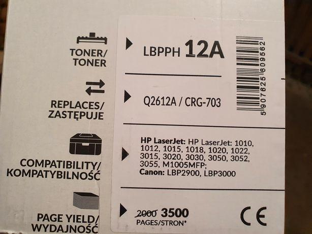 Q2612A black Point nowy toner