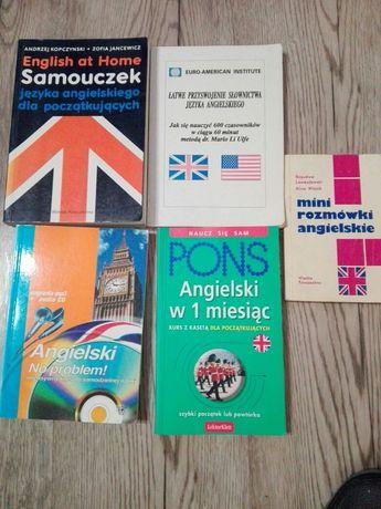Książki do nauki języka angielskiego