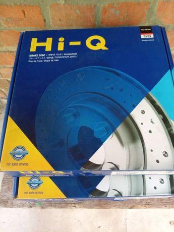 Тормзые передние диски на KIA RIO