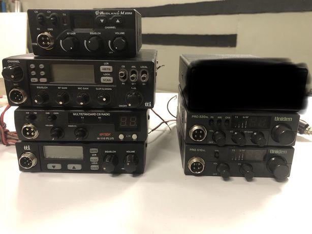 Cb radio zestaw radia, anteny