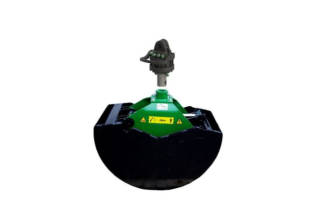 Czerpak + Rotator 4,5 Ton / Chwytak / łyżka czerpakowa do mat. sypkich