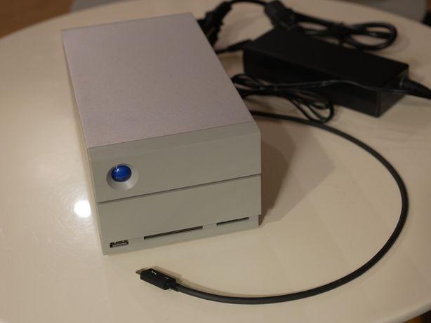 LACIE 2big Dock Thunderbolt 3 20 TB - macierz RAID dysk zewnętrzny