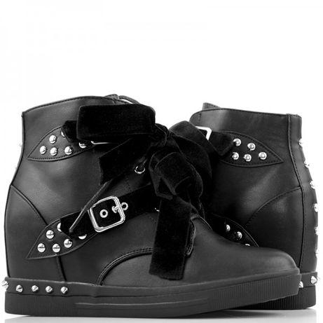 Sneakersy GLAM ROCK z ćwiekami r.39