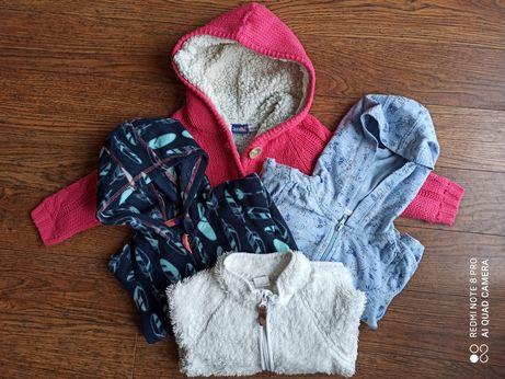 Zestaw ubranek dla dziewczynki-bluzy rozm.86/ 92