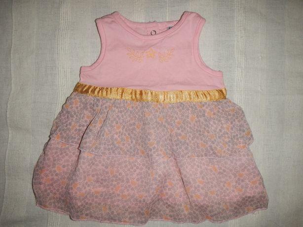 нарядное платье Zeeman р.56см