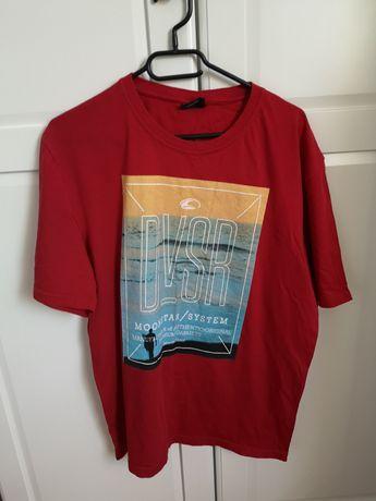 Bluzka XL czerwona