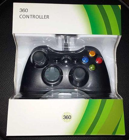 Comando Xbox 360 c.Fio  Novo e Selado
