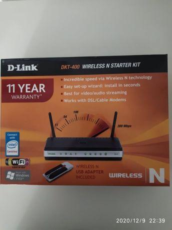 router D-LINK DKT 400 wireless