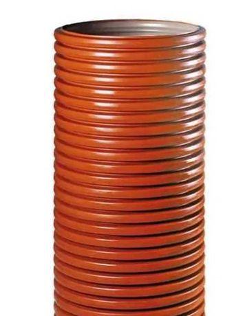 Rura karbowana PRZEPUST MOSTEK 600 mm długość od 1m do 6 m