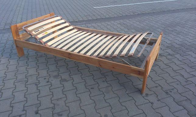 Rehabilitacyjny Stelaż - Łóżko - Rama łóżka + MATERAC 90 x 200 - IKEA