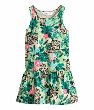 Легкое платье сарафан H&M на рост 92-98