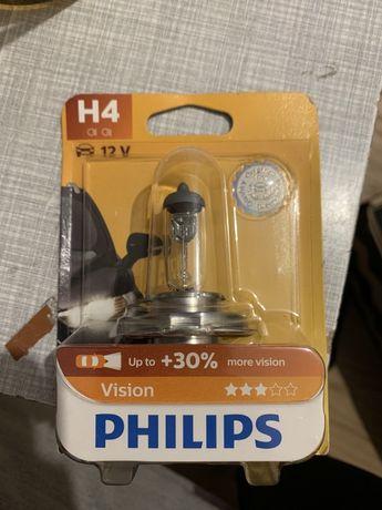Żarówka H4, Philips Vision, NOWA, dostępne 2 szt.