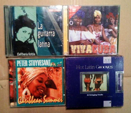 Zestaw tematyczny Cd muzyka latino Kuba