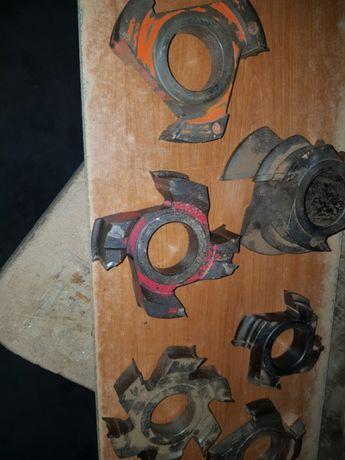 Lote de 6 freses para tupias carpintaria