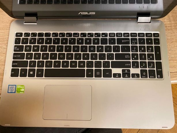 Ноутбук Asus Vivo Book Flip TP501UQ (срібний)