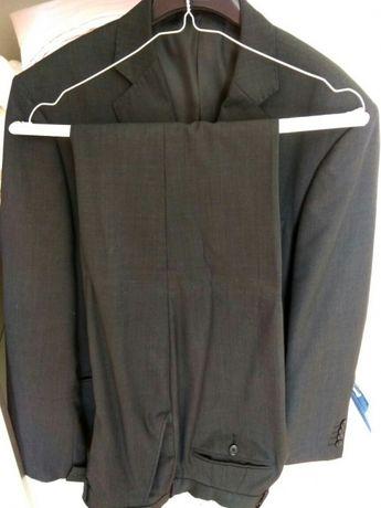 Fato verão cinza escuro (calça 46 casaco 54)