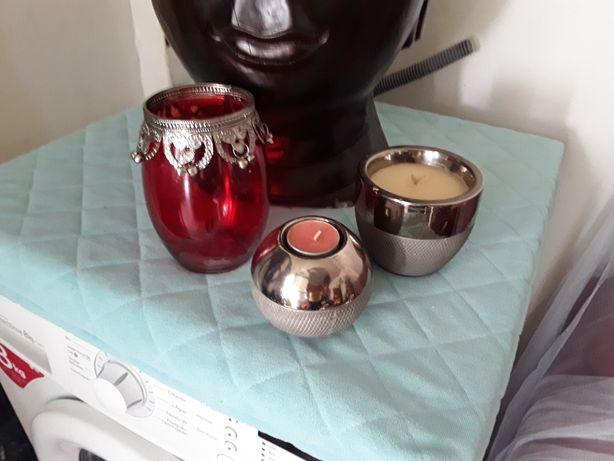 2 castiçais 1 candelabro