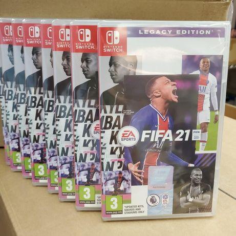 FIFA 21 Legacy Edition для Nintendo Switch нова в плівці