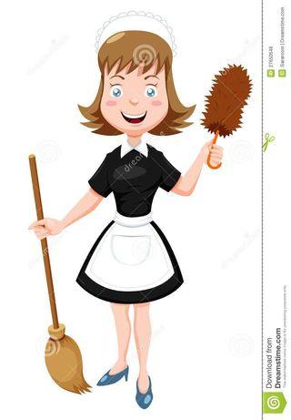 Prestação de serviços domésticos