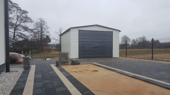 4x3 garaż blaszany schowek ogrodowy schowki profil rynny dachówka