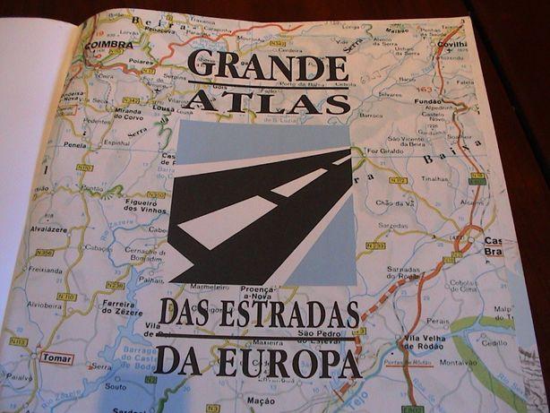 ATLAS - Estradas da Europa - Muito útil.