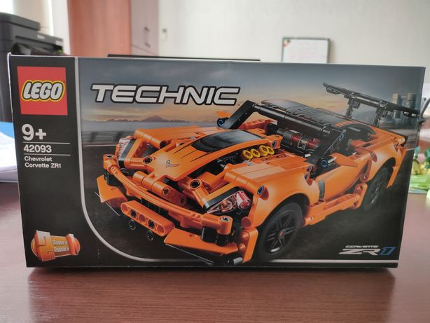 Конструктор LEGO technic 42093 Chevrolet Corvette оригинал