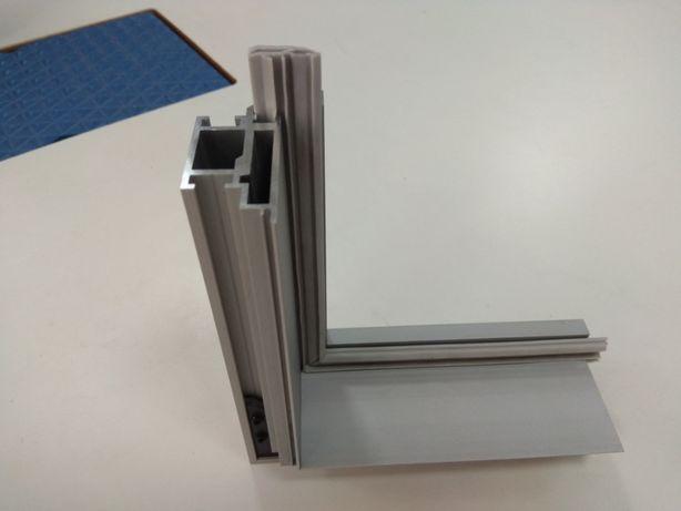 Алюминиевые дверные КОРОБКИ (двери скрытого монтажа)