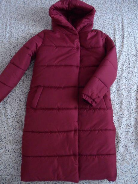 Женское зимнее стёганое пальто.НОВОЕ.Удобная моделька.Размер 46-48