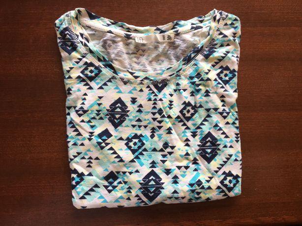 Top/tshirt com padrão