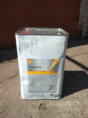 Синтетическое редукторное маслоShell Omala S4 WE 220 20л