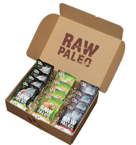 VetExpert RAW PALEO Sterilised 12x100g MIX smaków