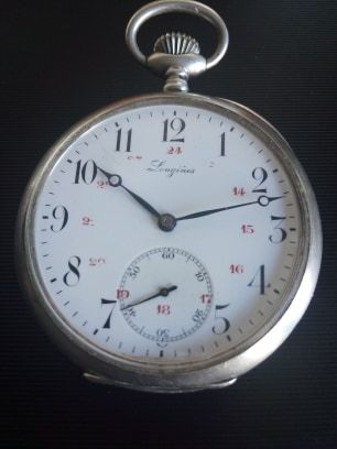 Relógio bolso Prata  LONGINES Grand Prix