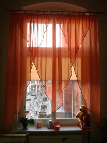 firanka kresz pomarańcz 150