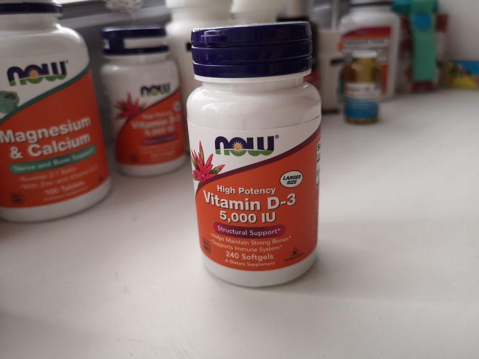 Витамин D3 5000 IU (25 ОН) NOW FOODS, IHERB Херсон - изображение 1