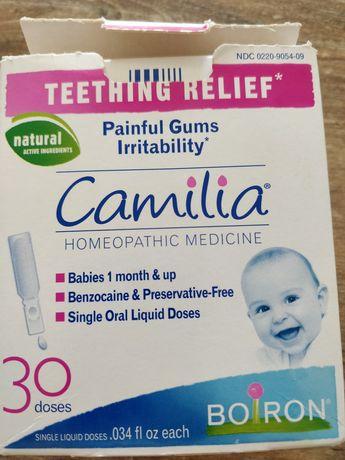 Camilla Камиля капли при прорезывании зубов