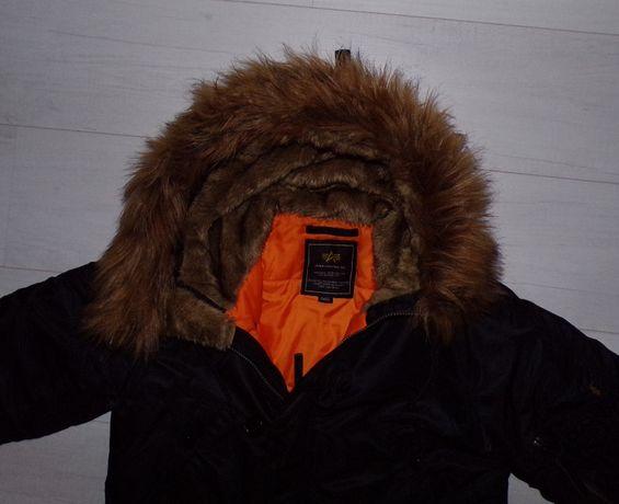 Alpha Industries płaszcz zimowy roz S/M stan idealny kupiony-Zolando