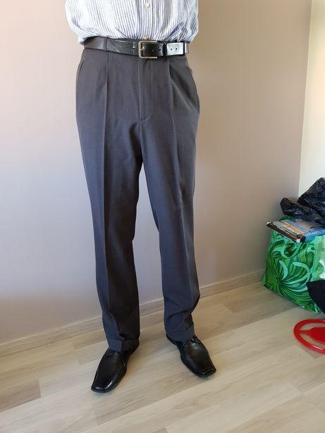spodnie męskie na kant PAWO