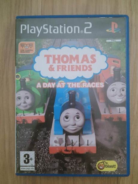 THOMAS & FRIENDS A Day AT THE RACES gra na konsolę ps2