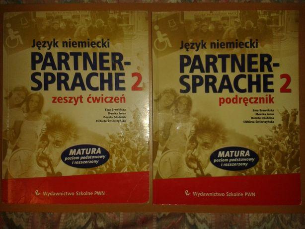 Partner- Sprache 2 Podręcznik i zeszyt ćwiczeń do języka niemieckiego