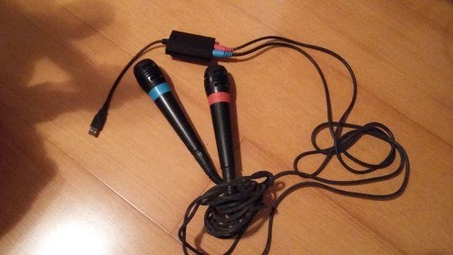 Microfones Singstar