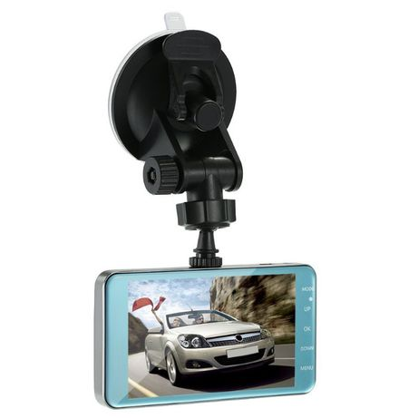 Rejestrator samochodowy z kamerą cofania Super HD