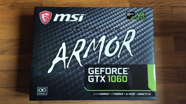 Karta graficzna MSI GeForce GTX 1060 ARMOR OC V1 6GB GDDR5