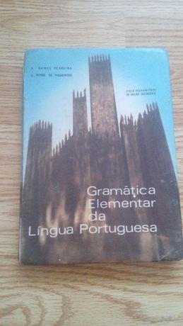 Gramática Antiga Elementar da Língua Portuguesa