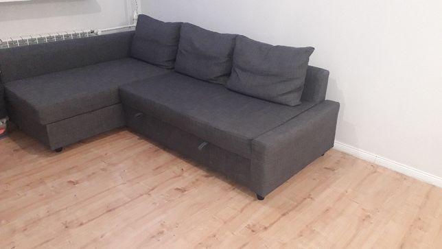 Wygodna rozkładana kanapa firmy Ikea
