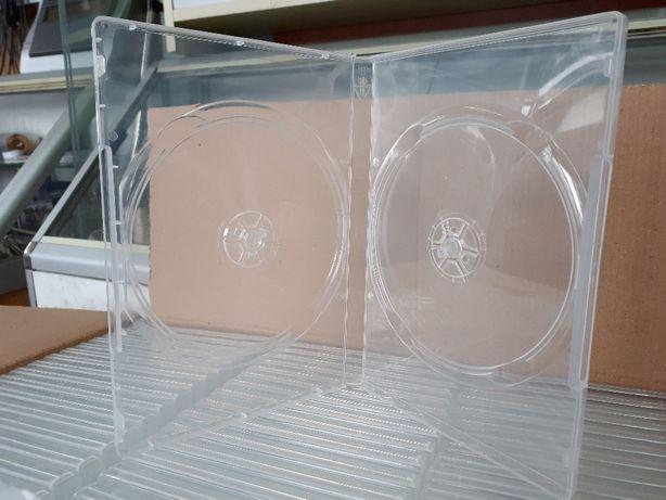 DVD-Box 14mm White на 1-2 диска коробка для DVD дисков ОПТ
